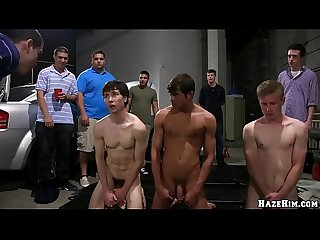 Gaywire the naked workout with sean duran and rey luis on jock hunter jh1342