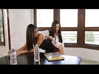 Don t skip the school comma naughty girl excl veronica rodriguez comma jelena jensen