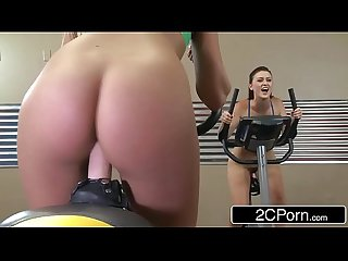 Sit spin new gym class for lesbians kenna james blake eden karlie montana