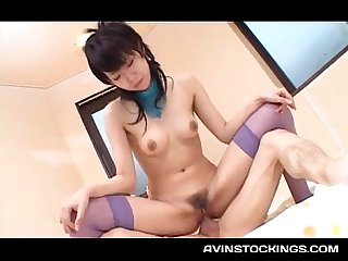 Teen jap hottie yukine fujishir tight cunt smashed deep