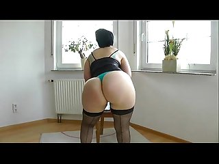 Older milf amateur big ass fucked by son