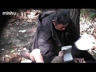 Asian old man fuck whore in Wood 3 goo gl tzduzu