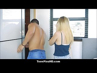 Hot Young Blonde Teen Creampie