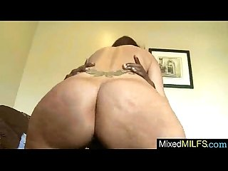 Mixt Sex Tape With Big BLack Cock Inside Mature Holes Lady (syren demer) video-26