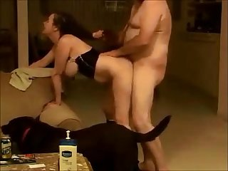 Amateur wife quick doggy