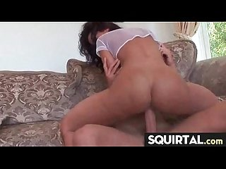 Pink pussy squirts hard 12