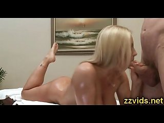 Amazing busty milf devon lee fucked after massage