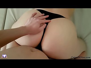 Hot milf blowjob and fuck big ass pov cristallgloss