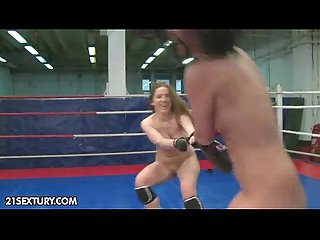 NudeFightClub presents Lexy Little vs Nicole Sweet