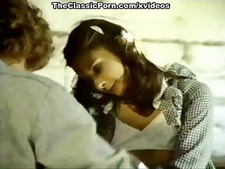 Lyn cuddles malone comma dan roberts comma joey silvera in vintage porn scene