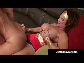 Super hero deauxma strapon fucks lesbo hero Alexis golden excl