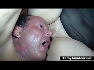 I immerse my face in bbw pussy s broth comma amateur facesitting