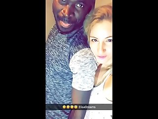 Flashing sex interracial snapchats
