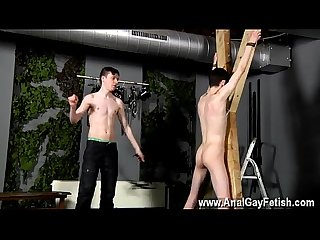 Stream gay fetish porn movies Victim Aaron gets a whipping, then gets