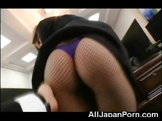 Teen Japanese Secretary!