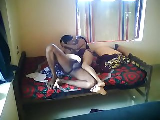 Desi couple, sexy teen