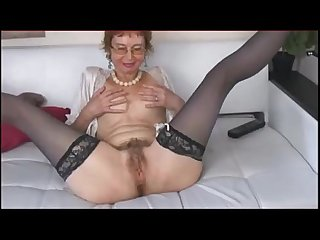 Older woman with hairy pussy more on mygopropussy com