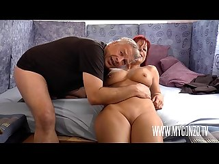 Euro Sex Trip: Dieter Von Stein Seduces Redhead Crazy German Slut Jolyne Joy Into A Rough..