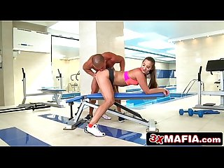 Typical day at the gym involves taking fitness instructor s dick amirah adara