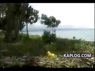 Pinay dinala sa isang resort sa tabing dagat saka pinagsawaan
