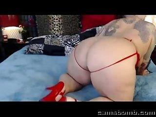 Hot bbw on live cam