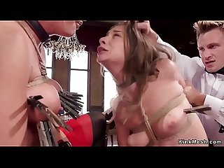 Blonde Milf and babe fucked in party