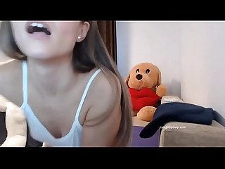 Sexy Teen Moans And Rubs Herself ( Camgirlspower.com )
