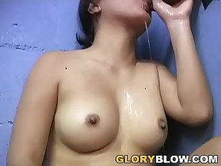 Asian nakia ty tastes bbc gloryhole