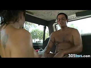 Slut Banged in Van 79
