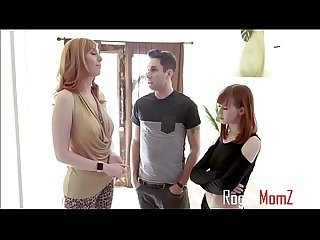 Redhead Mom Teaches d.'s Boyfriend A Lesson- Lauren Phillips & Alexa Nova