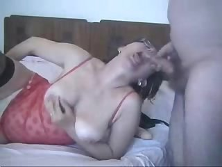 Must see my pervert mature wife amateur home made