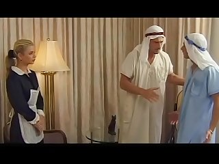 Demia moor naughty maid enjoys Dp
