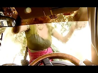 ---Indian Village Bhabhi Washing Car..{UNCUT EXCLUSIVE SCENE}..