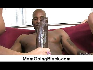 Big black cock bang my mommy pussy 18