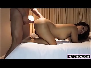 Ladyboy Amy Blowjob And Bareback
