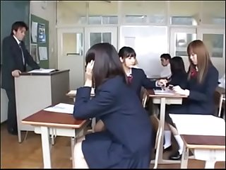 Japanese school girl time stop machine