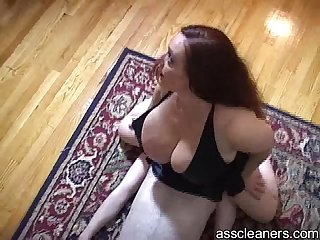 Poor slave is smothered by mistress big fat ass