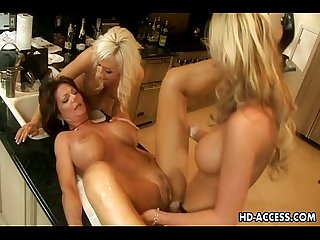 Phyllisha anne jacey andrews devon lee and demi delia fuck