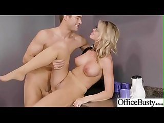 (Jessa Rhodes) Horny Big Tits Girl Love Hard Bang In Office clip-10