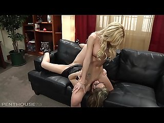 Boss Lady Destiny Dixon Dildo Fucks Angela Sommers Stress away