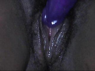 Chocolate pussy juice