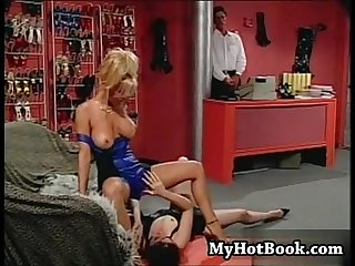 Chloe and jill Kelly work at a shoe store and when