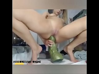My exgf fuck HULK dildo in her tight asshole. More on asscorecums.online.