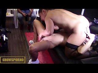 Brazilian blonde and brunette spanish lesbian fucki