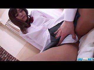 Creampie endNozomi Kaharas filthy Japanese porn show