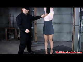Hooded bounded restrained felled up