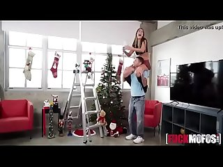 Kimber Lee In Kiss My Dick Under the Mistletoe
