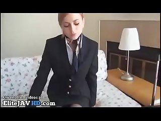 Jav hostess foot fetish in hotel - More at Elitejavhd.com