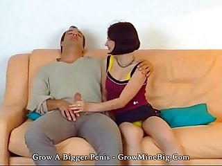 Hot daugther with dad huge cock fucking