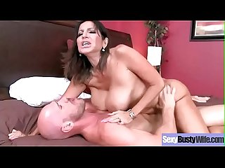 (Tara Holiday) Busty Mommy Enjoy Hard Style Sex On Tape Clip-23